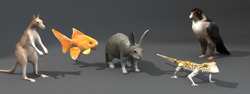 DOSCH 3D: Lo-Poly Animals