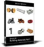 DOSCH 3D: Building Materials Vol.1